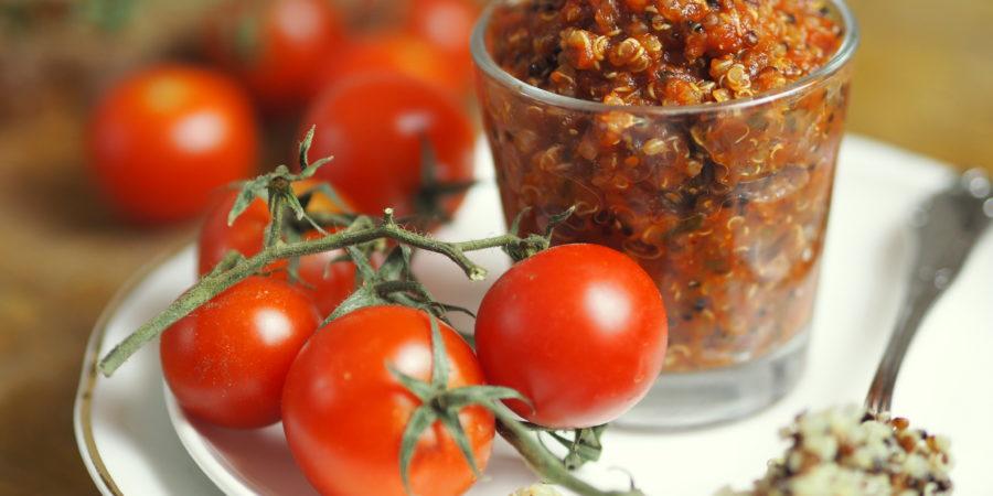 Tomaten-Quinoa Aufstrich