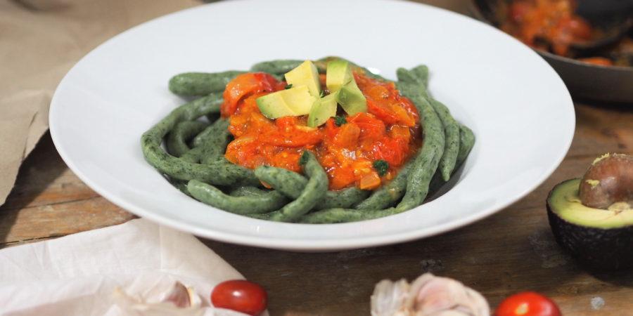 Spinat Pici I rustikal und selbstgemacht I aus der Toskana
