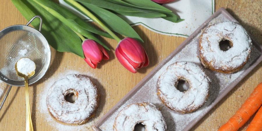 Mandel-Karotten-Donuts
