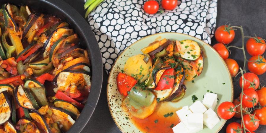 Briam I Gemüse aus dem Ofen