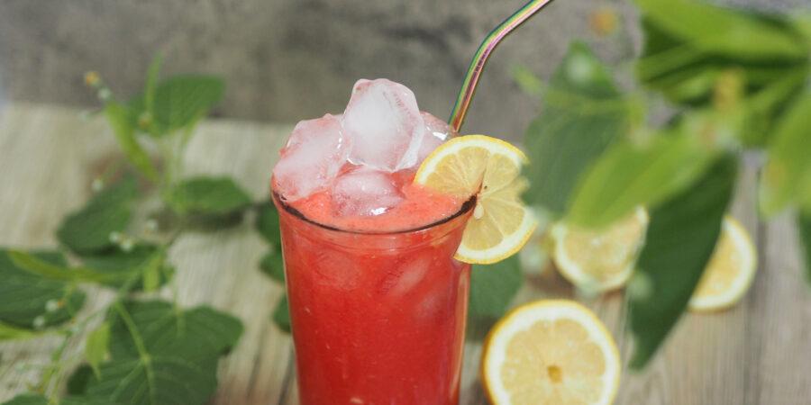 Limonade mit Wassermelone I erfrischend ohne Zucker