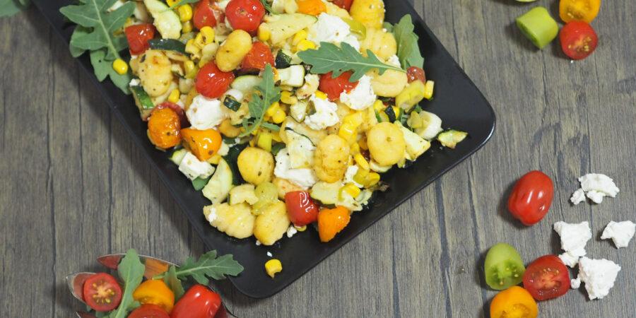 Gnocchi mit Gemüse I 20 Minuten Gericht