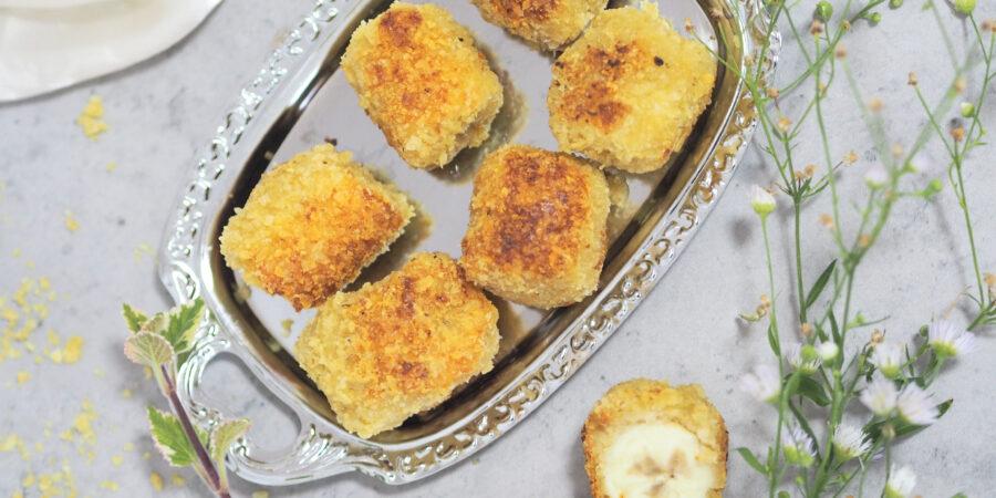 Bananen Nuggets I herzhaft oder als Dessert